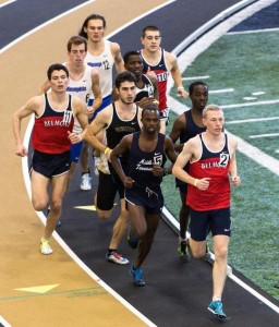 Marcus leading the field
