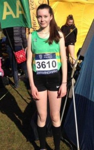 Izzy Fry: 13th in U15 Girls' race