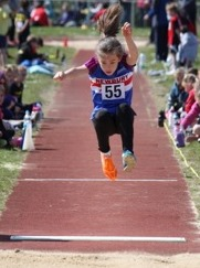 Phoebe Ryder in action at Bournemouth
